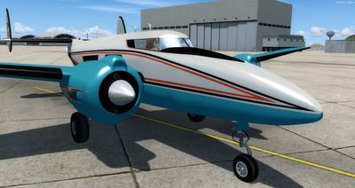 Howard 250 Trigear Package FSX P3D  3