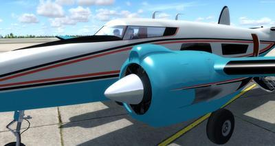 Howard 250 Trigear Package FSX P3D  4