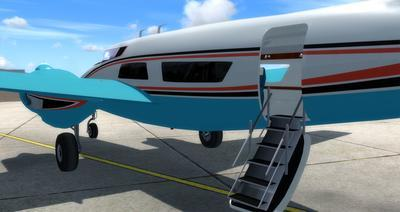 Howard 250 Trigear Package FSX P3D  7