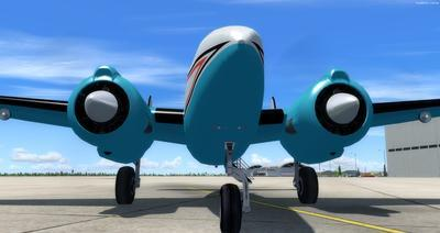 Howard 250 Trigear Package FSX P3D  9