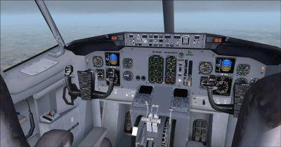 Boeing B737-400 Virtual Cockpit