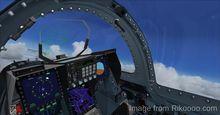 मित्सुबिशी एफ 2A बी FSX P3D  8