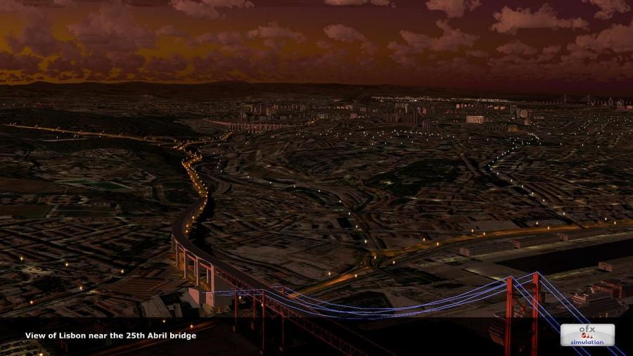 5ofx ಲಿಸ್ಬನ್ ನಗರದ ಹೆಗ್ಗುರುತು 2014 fsx p3d