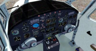 Piaggio P 166 Collection FSX P3D 17