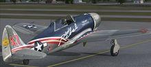 Republic XP 47J Escort FSX P3D 7
