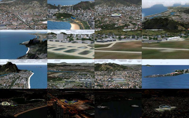 રિયો ડી જાનેરો Photoreal V9.0 FS2004