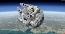 Star Wars Millenium Falcon FSX P3D 12
