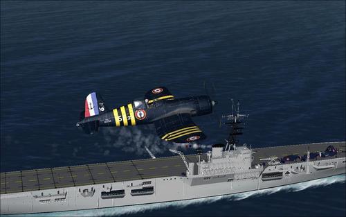 Chance keypti F4U-6 og 7 Corsair FSX & P3D