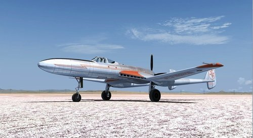 Vultee XP-54። FSX  &  P3D