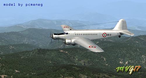 Fiat Aviazione Fiat G.12 FSX  &  P3D