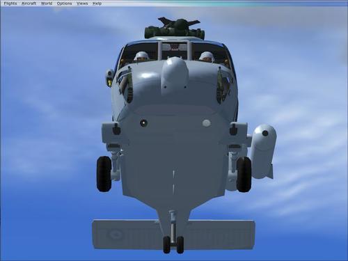 S-70B-6 ಏಜಿಯನ್ ಹಾಕ್ ಹೆಲೆನಿಕ್ ನೇವಿ FSX