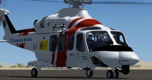 AgustaWestland AW139 SAR FSX  &  P3D