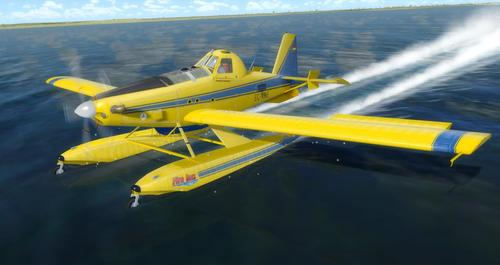 Air Tractor AT-802 Fire Boss FSX  &  P3D