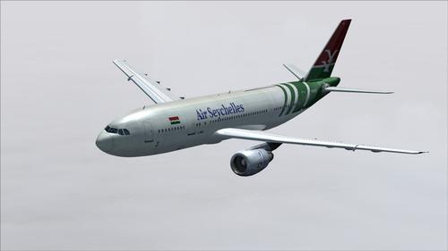 Airbus in A300B4-203 Air Seychelles FS2004