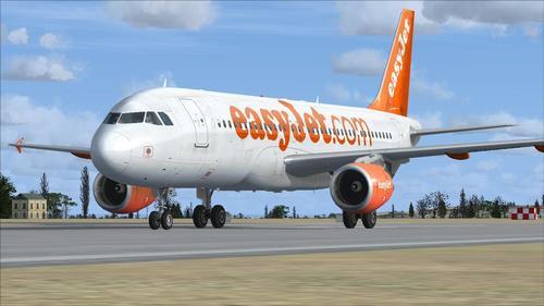 ಏರ್ಬಸ್ A320-200 ಈಸಿಜೆಟ್ FSX  &  P3D