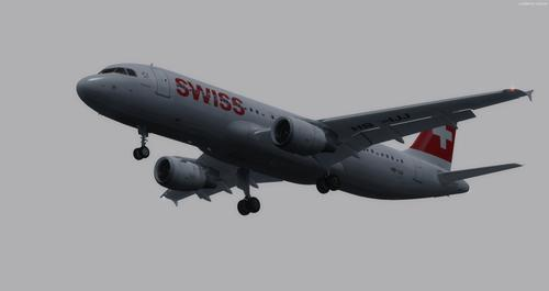 Airbus A320-214 Switzerland FSX  &  P3D