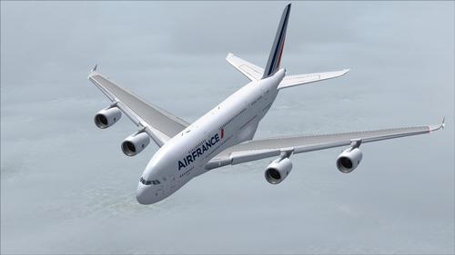 Airbus A380 Air France FS2004