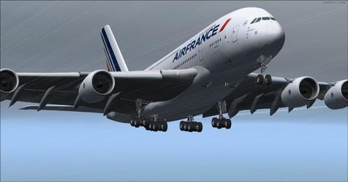 Airbus A380-800 VC Air France FSX & P3D