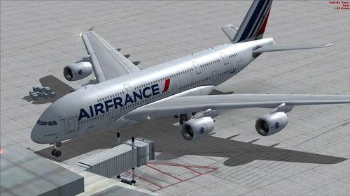 ಏರ್ಬಸ್ A380 ಏರ್ ಫ್ರಾನ್ಸ್ FSX