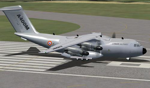 Airbus Milwrol A400M v2.0 FSX  &  P3D