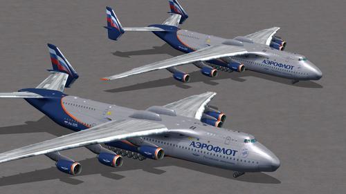 Antonov An-225 HD Livery Pack FSX & P3D