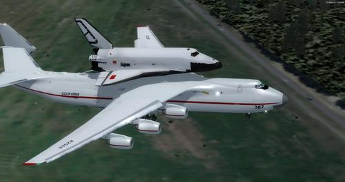 Antonov AN-225 Space Shuttle FSX & P3D