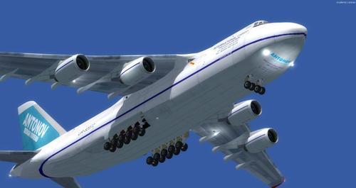 Antonov AN-124 FSX  &  P3D