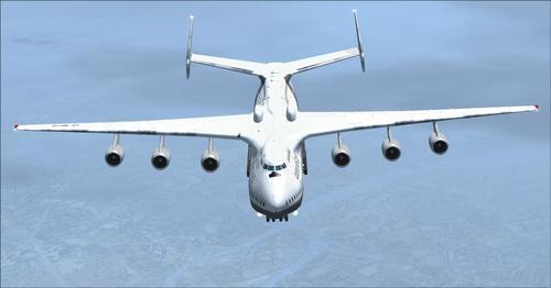एन्टोनभ AN-225 PAX FSX  &  P3D