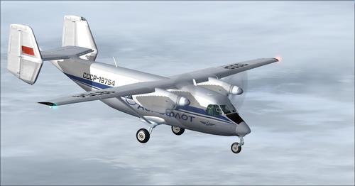 Antonov An-28 FSX-A eta P3D
