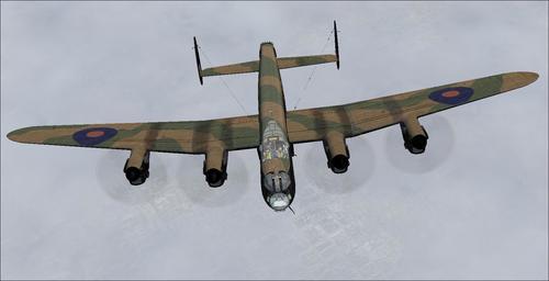 Avro Lancaster TP464 DB Мәртебелі Яе v6 FS2004