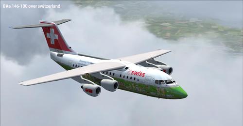Fleet Swiss International Air Lines FSX & P3D