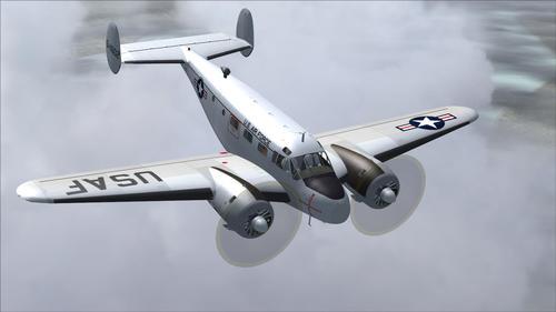 Beechcraft सी 45G USAF FS2004