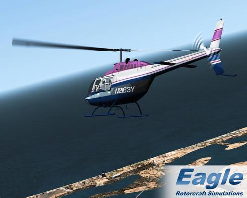 Bell 206B JetRanger III FSX & P3D