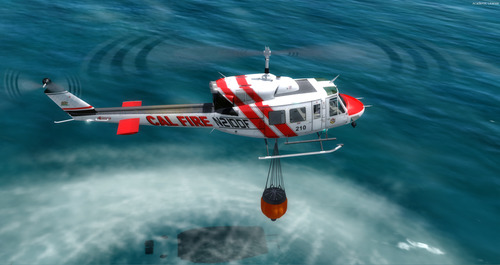 Bell 212 Fire Rescue Package P3D 64-bit