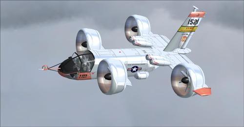 X-22A қоңырауы FSX  &  P3D