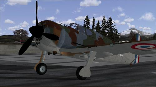 Bloch MB 152 Restauravia FSX