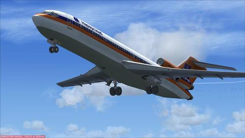 Boeing 727-200 Advanced FSX  &  P3D