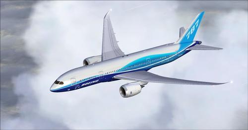 Máy bay Boeing 787-8 FSX  &  P3D