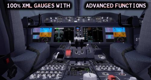 Boeing 787 Fanmi + Kabin Virtual FSX & P3D