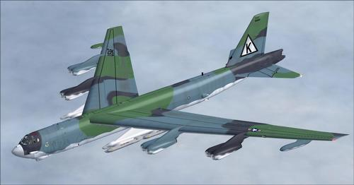 Stratofortress Boeing B-52 Alphasim FSX SP2 & P3D