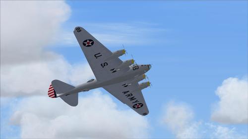 Boeing XB-15 Experimental de Llarg Abast FS2004 Bombarder