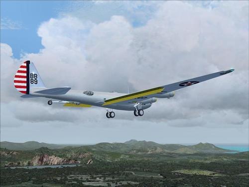 Boeing XB-15 whakamātautau roa-Range Bomber FS2004