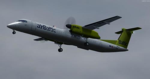 Bombardier Dash 8 Q400 balio anitzekoa FSX  &  P3D