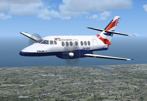شرکت British Aerospace Jetstream را 31 / 32 FS2004