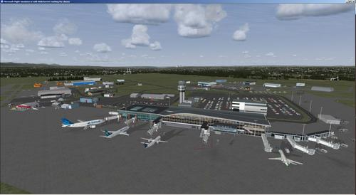 Internationale luchthaven Quebec, Jean Lesage FSX  &  P3D