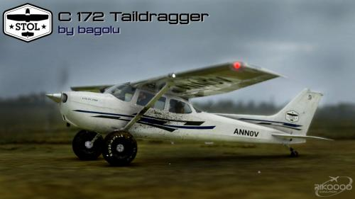 Cessna 172 Tail dragger G1000 MSFS 2020