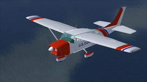 Cessna Stationair 206 Coast Guard FSX