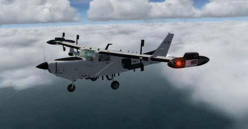 Cessna T206H Soloy Turbine Pac Mark 2 FSX  &  P3D