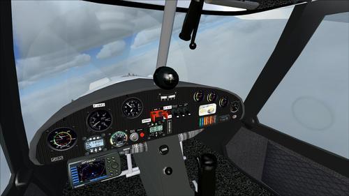 COMCO 이카루스 C42 레드 크로스 FS2004