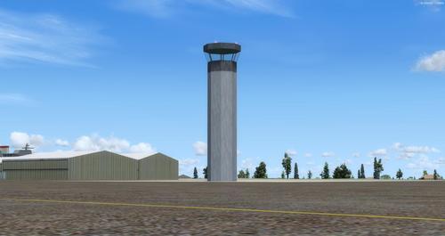 برج التحكم FSX  &  P3D